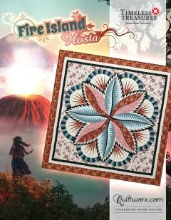 Fire Island Hosta Wall Quilt
