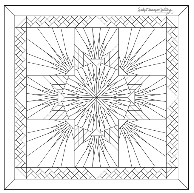 Line Drawing Of Quilt : Agave garden