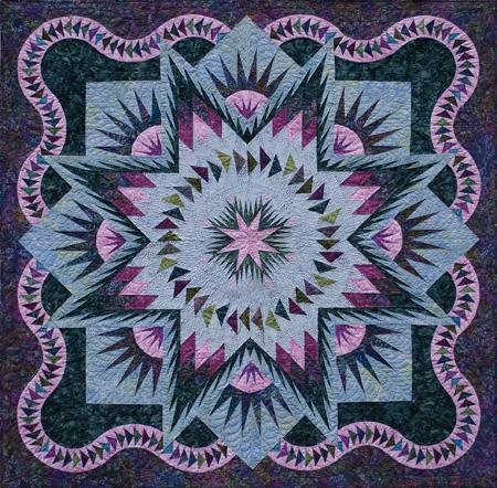 Glacier Star : star pattern quilt - Adamdwight.com