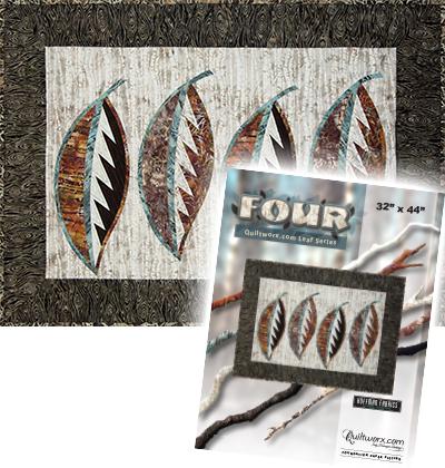Four - Quiltworx.com Leaf Series