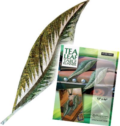 Tea Leaf Table Runner
