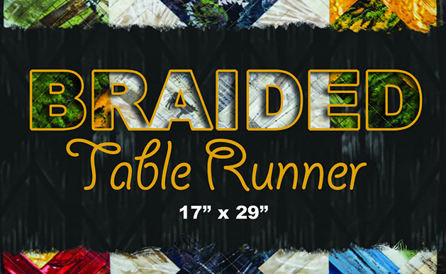 The Braided Runner Cover Marquee