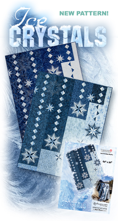 New Pattern!  Ice Crystals